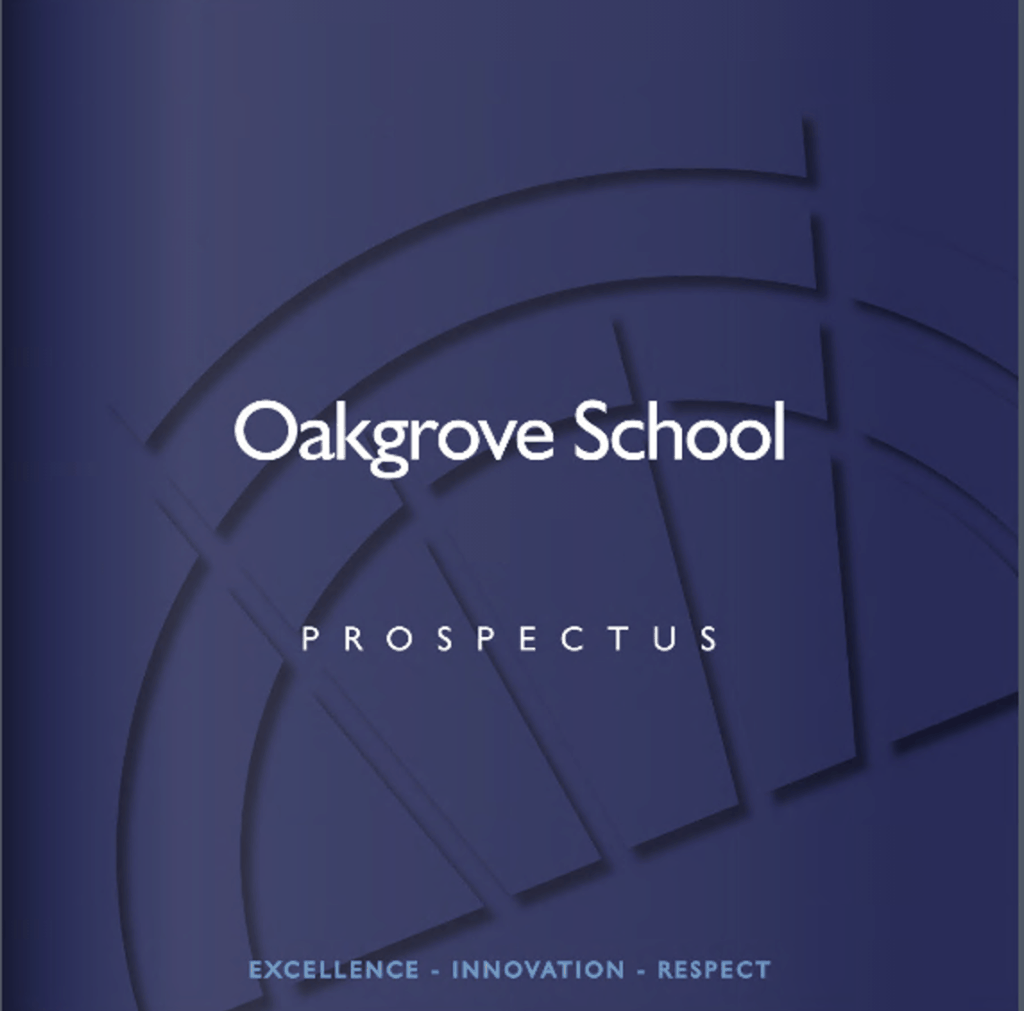 Oakgrove Prospectus Cover Photo