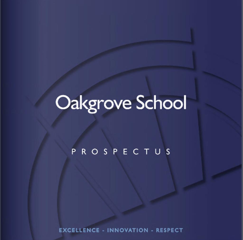 Oakgrove Prospectus Cover Photo
