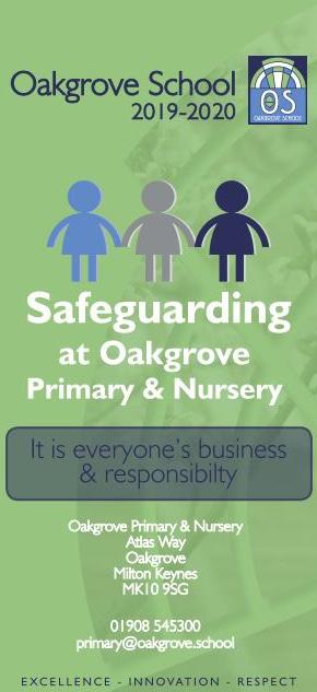 Safeguarding leaflet - primary