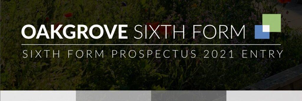 Oakgrove Sixth Form Prospectus
