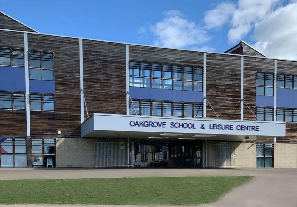 Front of Oakgrove secondary